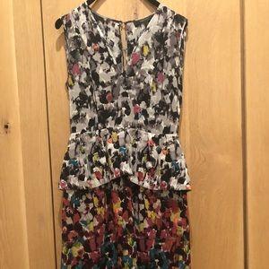 BCBG Maxazria Peplum Dress
